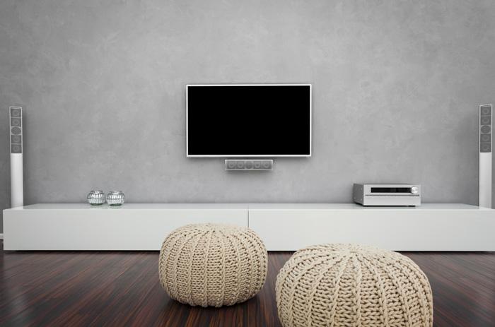 Impianto audio TV